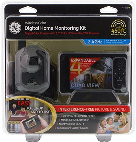 ge wireless color digital home monitoring lcd