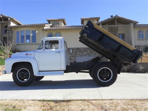 dump truck beds for sale 1956 ford f 600 dump truck with garwood bed for sale