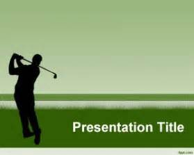 golf powerpoint templates free golf club powerpoint template