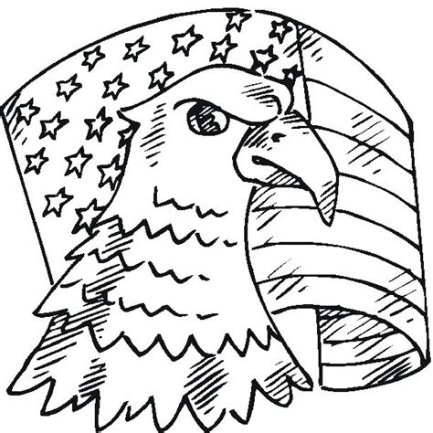 coloring pages bald eagle and us flag 17 best images about patriotic to make do on