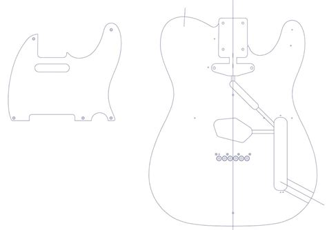 fender telecaster template pickguard template images exle resume templates