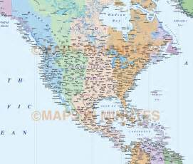 North American Time Zone Map by Pics Photos Time Zones North America Converter