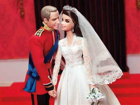 Boneka Mcqueen royal wedding dolls mattel s prince william and kate