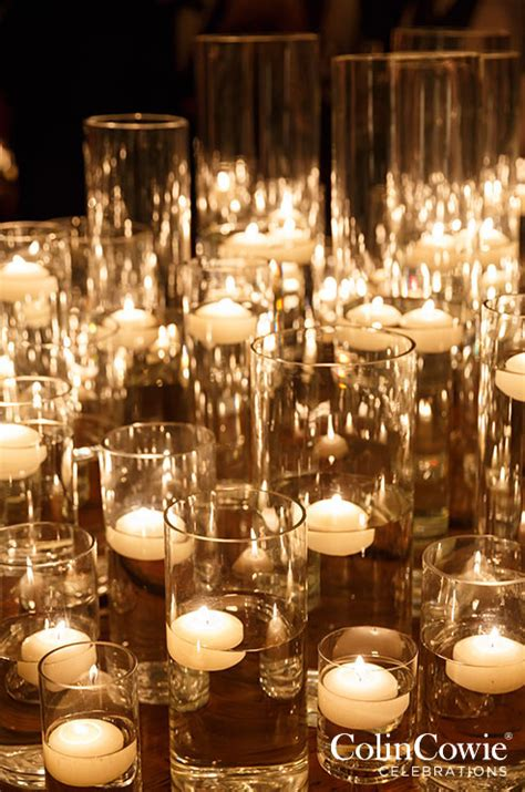 wedding table decoration ideas with candles wedding decorations floating candles candle holders