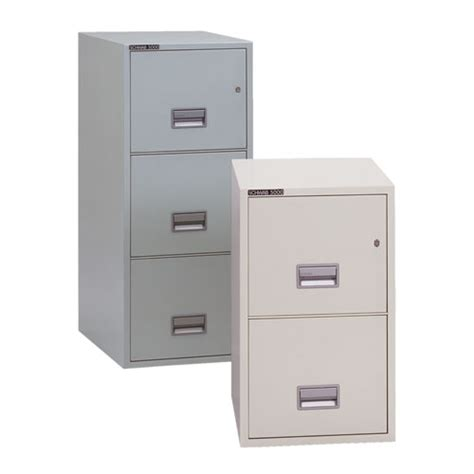 series 5000 insulated vertical file cabinet size
