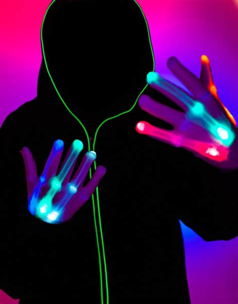 led light up gloves light up led gloves fotokraftwerks photo booth