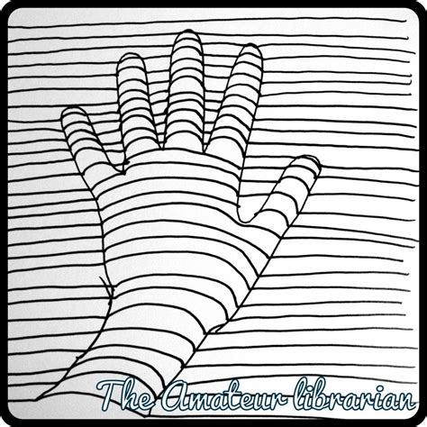 Printable Optical Illusions 3d | diy optical illusion free printable coloring pages enjoy