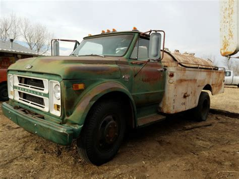 1967 chevrolet c50 fuel tanker patina shop truck car