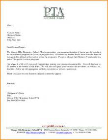 business thank you letter the best letter sle