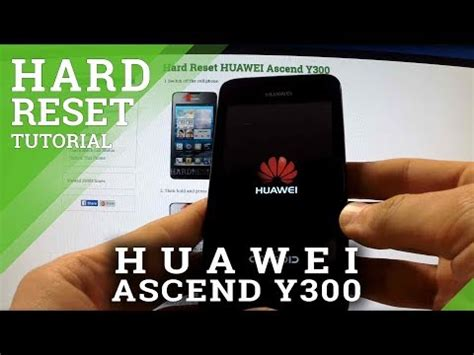 pattern lock huawei y300 huawei ascend y300 how to do a hard reset factory wipe doovi