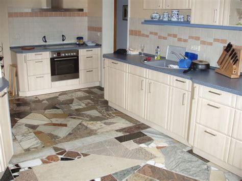 küchenboden fliesen mosaik idee fu 223 boden