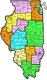 united states map illinois illinois county map usa