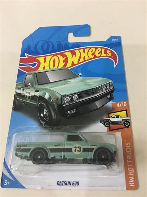 Hotwheels Wheels Datsun 620 datsun 620 wheels 2018 esc 1 64 60 00 en mercado libre