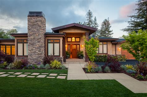 house style and design contemporary landscaping western style house exterior
