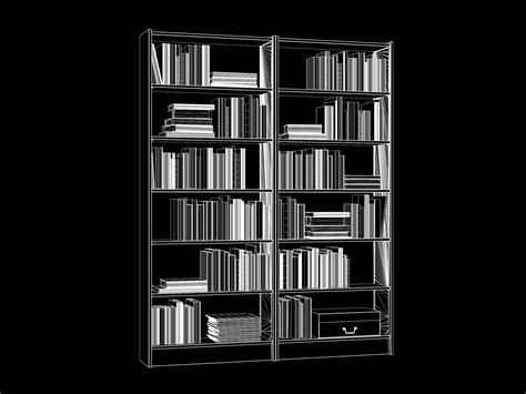 Ikea Usa Billy Bookcase Ikea Bookcase Billy With Books Models4d