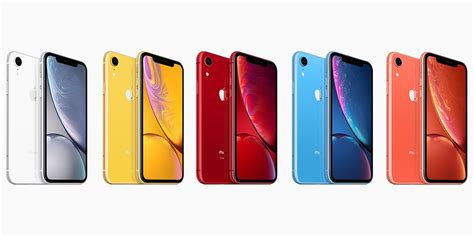 iphone xr colors iphone xr pre orders start at t mobile today