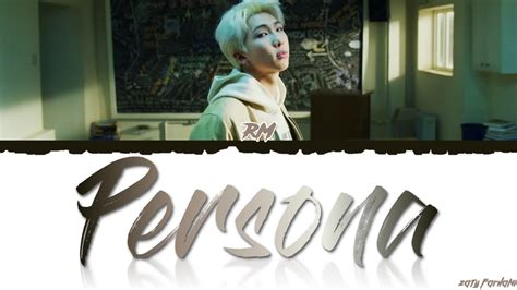 bts map   soul persona persona lyrics