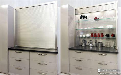 kitchen cabinet roller doors it s a tambortech door not a kitchen roller door or a