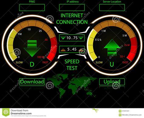 speed test speed test meter vector illustration