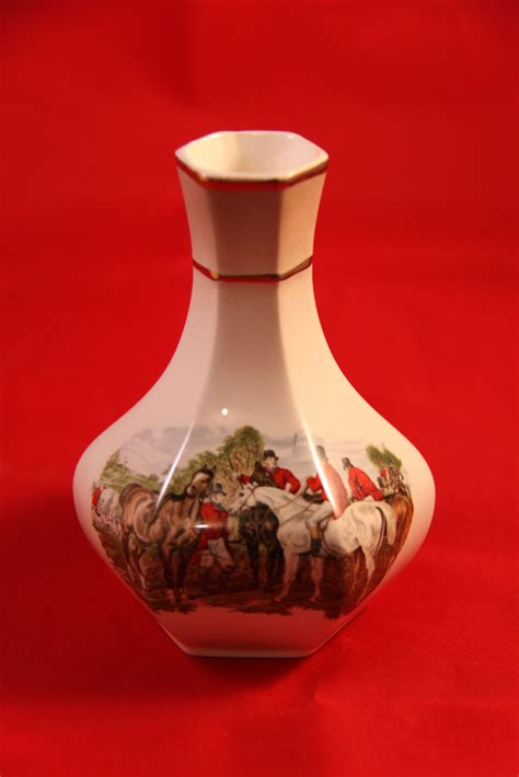 Royal Worcester Palissy Vase by Memories Palissy A Royal Worcester Company