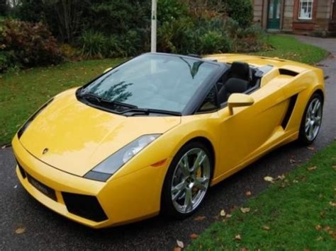 Lamborghini Gallardo Spyder For Sale Uk For Sale Lamborghini Gallardo Spyder 2007