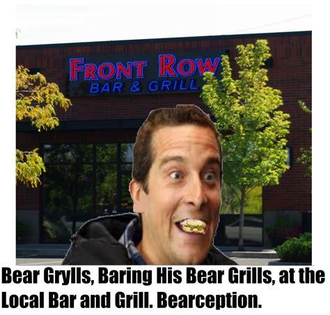 Pissed Face Meme - bearception bear grylls better drink my own piss