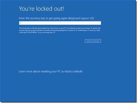 reset windows password locked out do i need a bitlocker pin 4sysops