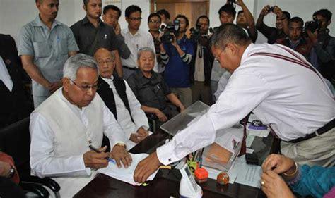 total no of seats in lok sabha manipur lok sabha polls 35 per cent polling for manipur s