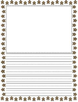 gingerbread writing paper free gingerbread writing paper new calendar template site