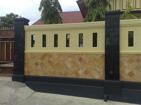 gambar desain pagar rumah minimalis modern idea rumah idaman