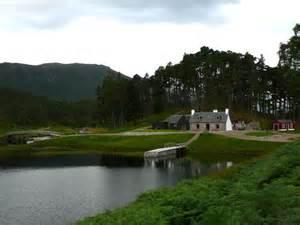 Glen Affric the glen affric estate keeper s cottage scotland in view