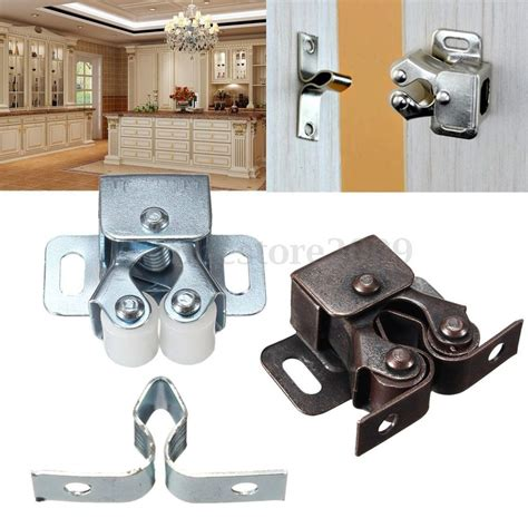kitchen cabinet door catches 1 2 5 pcs double ball roller catches cupboard cabinet door