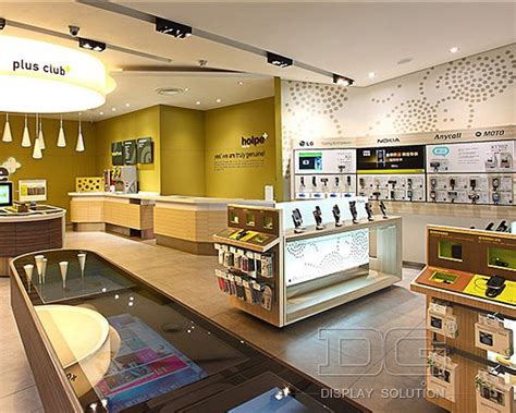supermarket cell layout el58 fashion cell phone store fixtures guangzhou dinggui