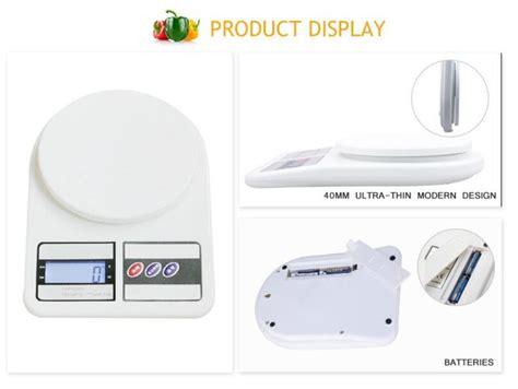 Produ Timbangan Sf 400 5kg T3009 3 sf 400 household type kitchen digital scale food weighing scale buy kitchen digital scale