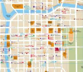 Street Map Of Downtown Chicago by Quincy Area Chicago Map Randal Birkey