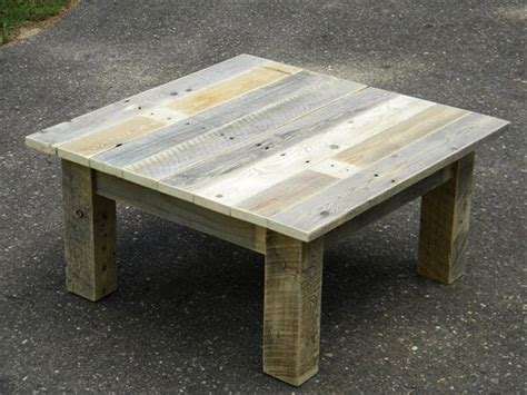 Rustic Pallet Coffee Table Wood Pallet Coffee Table Project 101 Pallets