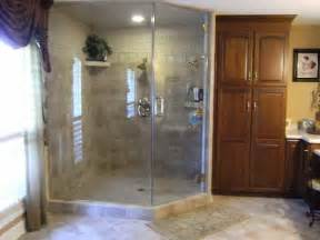 bathroom remodeling steam shower units with blue curtain