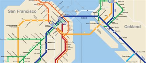 san francisco underground map this 2050 bart map imagines the future of bay area