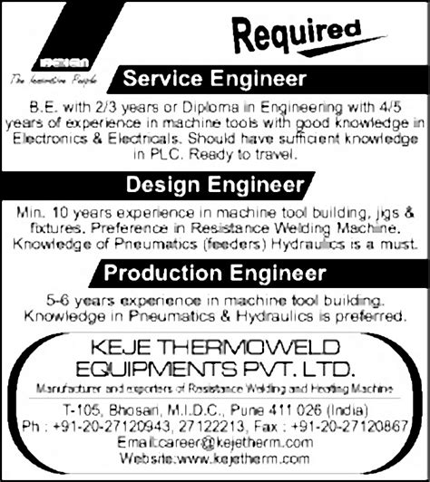 design engineer job pune job design engineer pune engineering civil and