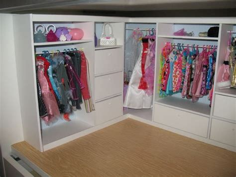 Paper Closet Clothing by Closet Tutorial Doll House