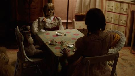 annabelle doll notes annabelle creation trailer is here to tell us the creepy