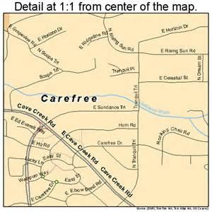 carefree arizona map carefree arizona map 0410180