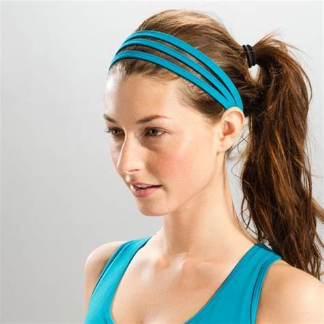 Hairstyles With Sport Headbands | 91 best images about sport headbands on pinterest sporty