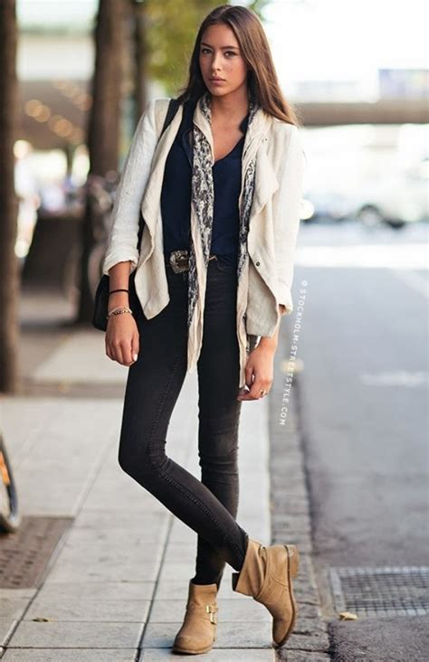 wear ankle boots  fall   fashions