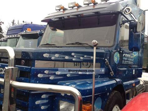 scania 143 500 hauber 1996 standard tractor trailer unit