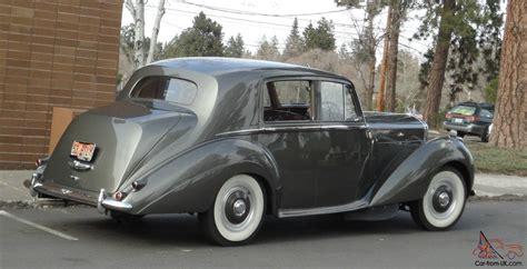 grey bentley 1953 bentley type r tudor grey dark red