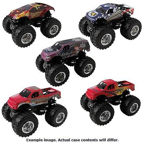 wheels monster jam trucks for sale wheels 1 64 scale monster jam wave 15 case mattel
