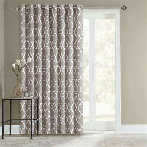 patio slider curtains sliding door curtains for the home pinterest sliding