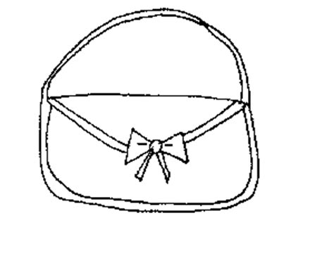 fashion purse coloring page