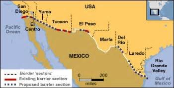 us mexico border musings on maps